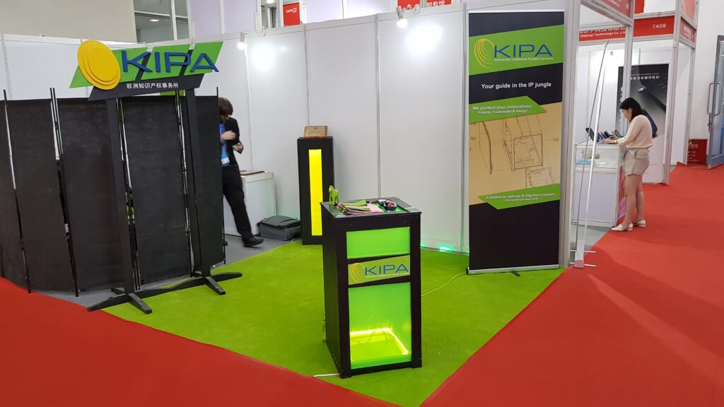 Kipa booth at CHTF